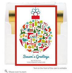 22 Best Company Christmas Cards Images Company Christmas Cards