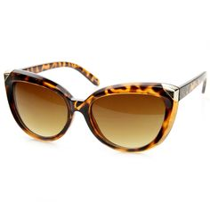 Mod Retro Oversize Bold Cat Eye Womens Fashion Sunglasses 9224 | zeroUV