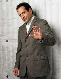 Tony Shaloub (one of my comedic idols)as Adrian Monk