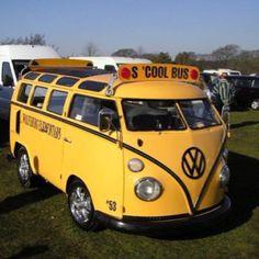 Vw school bus LOVE THIS