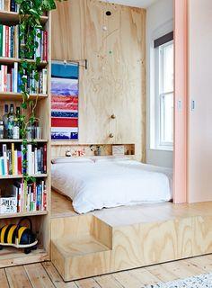 кровать подиум в гостиной - Поиск в Google