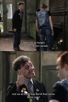 I love it in The Young Ones when one of them would talk to the camera! Rik Mayall, Ear Wax, British Comedy, Young Ones, Having A Crush, Crushes, Tv Shows, Random, Casual