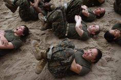Female Recruits Parris Island | incentive training aboard Marine Corps Recruit Depot Parris Island ... Female Marines, Female Soldier, Women Marines, Marine Mom, Us Marine Corps, Military Women, Military Life, Gi Jane, Parris Island