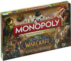 Monopoly - World of Warcraft Edition  http://www.ebay.co.uk/itm/Monopoly-World-of-Warcraft-Edition-/252642849469?hash=item3ad2aff2bd:g:hiMAAOSwux5YL-8M    Take our  Deal That you can Get . Visit  Our Shop  Now For the best  Bargains