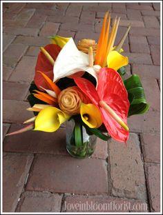 tropical bouquet- Love In Bloom, Key West