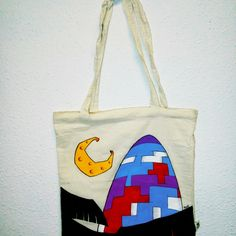 """Bolsa """"Torre Agbar"""" by Txell https://l.bloombees.com/AD28264L354 #bloombees"""