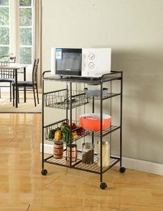 Kings Brand Metal With Marble Finish Top Kitchen Storage Cabinet Cart by Kings Brand Furniture. $75.99