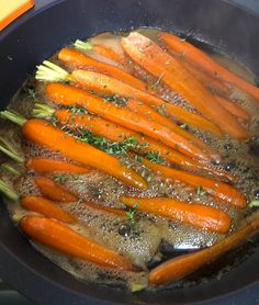 Canapes, Grill Pan, Carrots, Side Dishes, Grilling, Appetizers, Vegetables, Deco, Kitchen