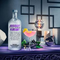 The story behind the name Absolut Kurant is black currant, a typical Swedish berry from which the flavor is taken. Originally it was even supposed to be called Absolut Vinbär since the Swedish word for black currant is vinbär.