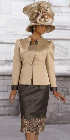 Donna Vinci Couture Womens Church Suit 5366