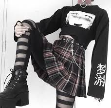 Punk Outfits, Grunge Outfits, Teen Fashion Outfits, Retro Outfits, Cute Casual Outfits, Mode Grunge, Grunge Style, Aesthetic Grunge Outfit, Aesthetic Clothes
