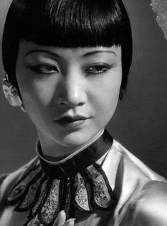 Anna May Wong, American silent film star from the 1930s - yet she has such modern beauty.