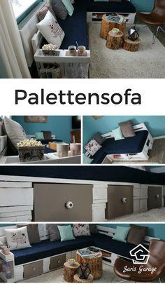 Mit DIY Video zum Nachbauen und Ratgeber worauf es beim Bau eines Sofas / Loung oder einer Couch ankommt.
