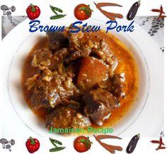 Best Jamaican Stew Pork Recipe