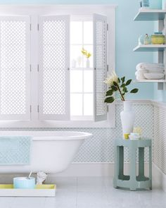 I want this color for my bathroom!!!
