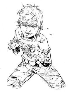 comicartappreciation:  Battling Boy by Paul Pope
