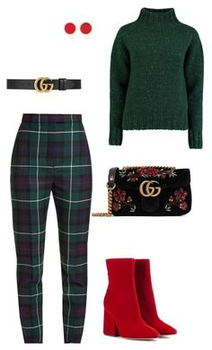 """""""Untitled #60"""" by denisa-gabriela on Polyvore featuring Maison Margiela, Lowie, Gucci, Burberry and Established"""