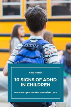 Though many children show some of the following behaviors, a child exhibiting many or all of these signs may have ADHD. Though this does not necessarily mean your child has ADHD, parents who have noticed many of these behaviors should discuss any concerns with their physician.  #ADHD #health #kids #children #adhddisease #disease #parenting Adhd Facts, Adhd Signs, Impulsive Behavior, Mental Health Disorders, Kids Health, Social Platform, Your Child, Parents, Children