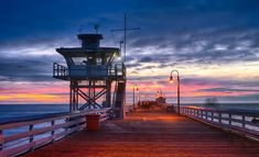 *🇺🇸 San Clemente Pier (California) by Don Kaysen on 🌅 San Clemente Pier, Years Passed, California Beach, Beach Town, Small Towns, Cn Tower, Discovery, Sailing, Nature Photography