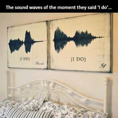 awesome Idea for the sound waves but maybe on something else