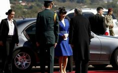 Japanese Princess Mako  is welcomed by Paraguay Vice-Foreign Minister Oscar Cabello Sarubi upon her arrival at the international airport Silvio Pettirossi in Luque, Paraguay, on September 7, 2016. Princess Mako is in Paraguay on an official visit