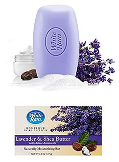 White Rain Boutique Collection Lavender Shea Butter Bar Soap Per Bar 6 Pack *** Continue to the product at the image link. (This is an affiliate link) Butter Bar, Shea Butter Soap, Facial Cleanser, Moisturizer, Types Of Facials, Facial Bar, 6 Pack, Bar Soap, Boutique