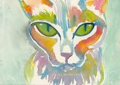 cat watercolor - Google Search