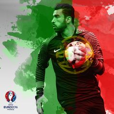 """Portugal goalkeeper Rui Patricio played more minutes at than any other player. Psg, Portugal Soccer, Uefa Euro 2016, We Are The Champions, World Football, European Championships, Goalkeeper, Cristiano Ronaldo, Twitter"