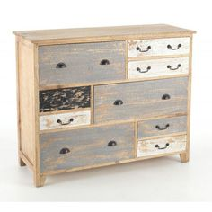 Ancient Mariner Piccadilly 9 Drawer Long Chest