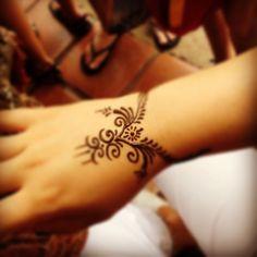 Henna. Like how simple it is.