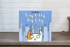 A heartwarming, gorgeously illustrated picture book of an adorable cat finding its forever home, from acclaimed author-artist Tim Miller. 📸 @thecuriousreader