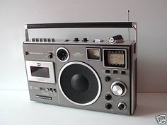 Created in 1974, D250190 was introduced as the National Panasonic RF-5410BA in 1976.