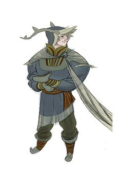 Early conceptual art design for Kristoff from Frozen. Description from pinterest.com. I searched for this on bing.com/images
