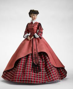 Scarlett from Gone with the Wind...I love this outfit. Tonner did a terrific job replicating it in doll size.