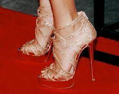 Shimmery sandales