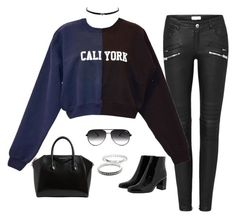 """""""Untitled #178"""" by jordanraestyle ❤ liked on Polyvore featuring Yves Saint Laurent, Jessica Simpson, Child Of Wild, Thomas Sabo, Cynthia Rowley, Givenchy, Quay, NightOut, sets and fashionset"""