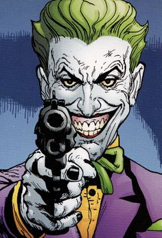 Joker. Is this from The Man Who Laughs? I love that book.