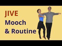 How to Dance Mooch in Jive? - YouTube