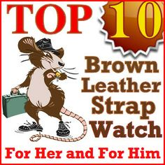 10 that are stylish and you will love Brown Leather Strap Watch, Urban Chic, My Boyfriend, Colours, Watches, Stylish, Shopping, My Friend, Clocks