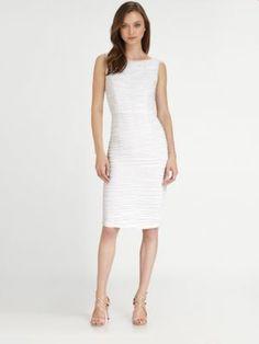 Badgley Mischka - Short Cocktail Dress - Saks.com