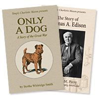 Only a Dog: A Story of the Great War - living book reprinted about World War I from a dog's perspective.