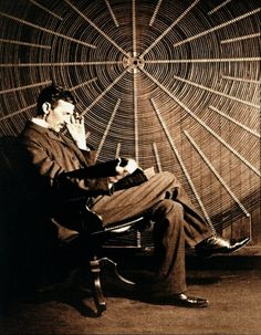 I have a crush on this man's mind - such awesomeness all in one place....    Nikola Tesla