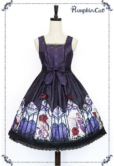 Pumpkin Cat -Beauty the Rose- Lolita Jumper Dress