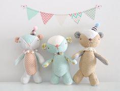 Menthe ours en peluche jouet doux 3 par WeLoveStitches sur Etsy