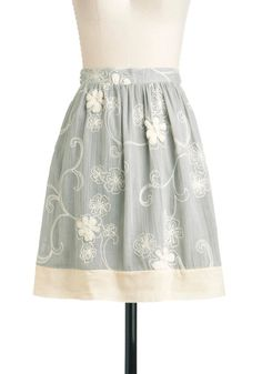 Graceful Note Skirt