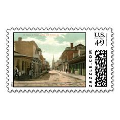 French Quarter, New Orleans 1910 Vintage Postage Stamp We have the best promotion for you and if you are interested in the related item or need more information reviews from the x customer who are own of them before please follow the link to see fully reviewsThis Deals          Frenc...