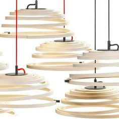 Suspension Aspiro Secto Design via Nat et nature