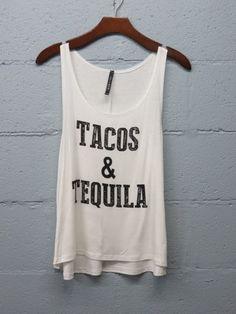 Tacos & Tequila Tank Pre Order – Monica's Closet Essentials