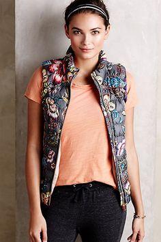 Pure + Good Puffer Vest - anthropologie.com