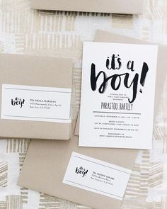 Wearing my party planner hat as I head to the post office to ship these pretty invites out! Cards designed by @theoysterspearl, labels designed by yours truly. #bashforbabyb